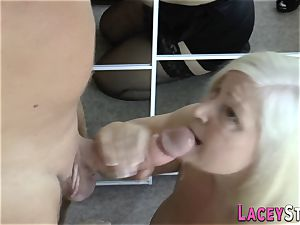 plowed grandmother breasts humped
