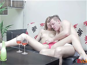 barely legal Videoz - Alexis Crystal - Morning coffee and sex