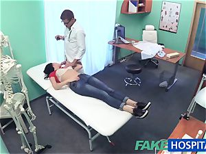 FakeHospital marvelous Russian Patient needs humungous rock hard cock