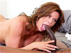 huge-titted nymph rails large fuckpole