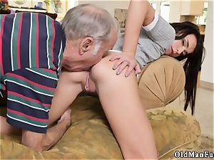 nubile prostitute senior stud riding the older spear!