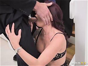 discreet spouse sees his wifey Monique Alexander get bum-fucked