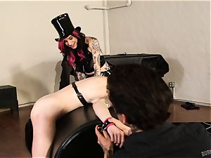 Anna de Ville is Joanna Angel and petite Hnads pet for the day