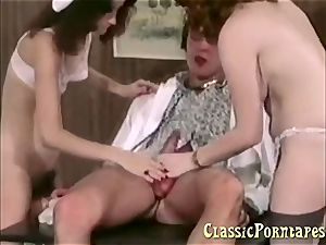 naughty physician romps her patient and her nurse