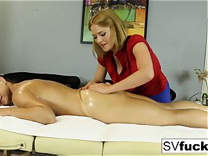 Sarah Vandella sapphic massage