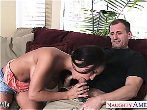 big-chested wife Peta Jensen take sausage