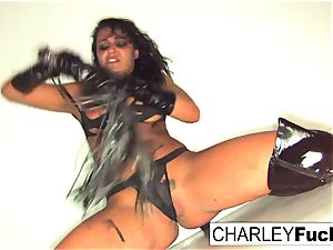 Charley is just praying to be caned