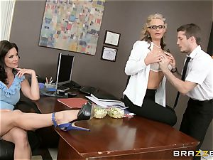 cougar three way with Phoenix Marie and Kendra zeal