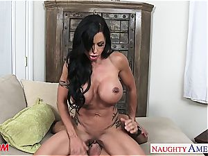 fine mommy nubs Jade nailing a magnificent guy