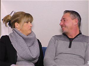 SexTapeGermany - German milf banged in hook-up gauze
