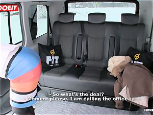 LETSDOEIT - Czech superslut Tricked and porked By cab Driver