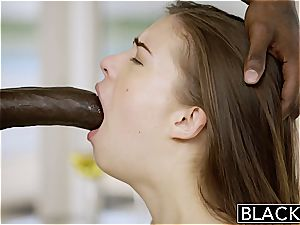 BLACKED first multiracial For Pretty girlfriend Zoe pecker