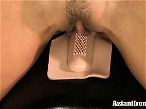 Brandi enjoy rides the sybian bare