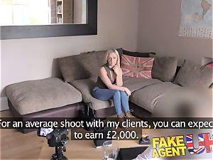 FakeAgentUK puny Scottish stripper