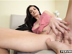 PervMom - buxom cougar railing Her sons-in-law large fuckpole
