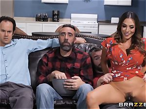 creampie surprise with Ariella Ferrera