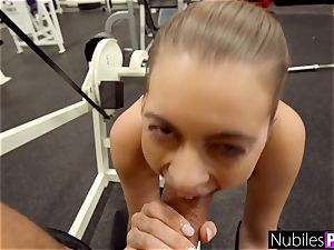 drilling Her Tinder rendezvous For A exercise - GymSelfie S1:E6
