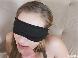 Peyton Robbie pummeled eyes covered