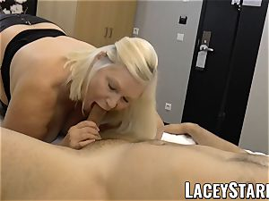 LACEYSTARR - GILF creampied by a successful client