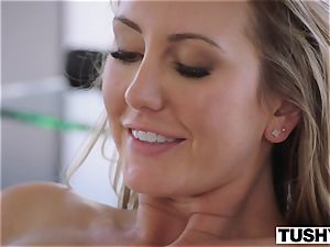 TUSHY Brett Rossi's first-ever off the hook ass fucking!