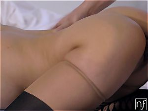 Morning lovemaking with a couple of cock-hungry babes