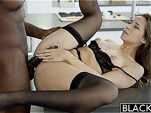 BLACKED My girlfriends steaming sis Cassidy Klein loves big black cock
