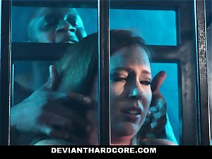 DeviantHardcore - multiracial ass-fuck babe Gets dominated