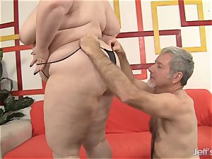 large hottie Gets Her throat and fuckbox crammed with a boner