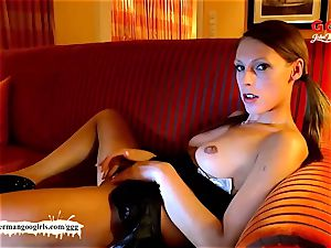 Jamie Jadon heats up her taut fuckbox