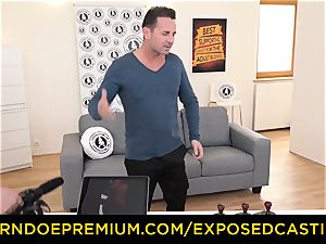 exposed audition - wonderful dark haired has gonzo ass-fuck fuck-a-thon