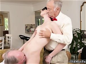 hot milf young shaft and curly dark-haired mom Frannkie heads down the Hersey highway