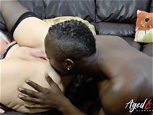 AgedLovE Lacey Starr bi-racial hard-core rectal