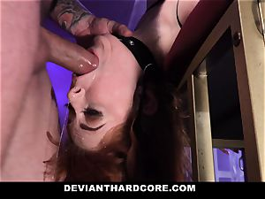 DeviantHardcore - scorching sandy-haired Gets hatch torn up
