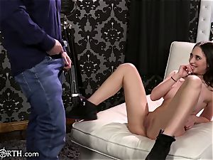 meaty titties Step-Daughter Cannot control her daddy fervor!