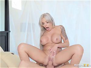 Nina Elle getting creampied