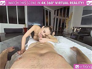 VRBangers.com lithe Jill Will spread Her juicy labia