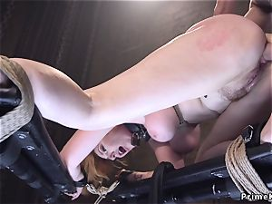 yam-sized titty red-haired sweetheart ass fucking screwed