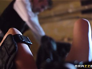 Madison Ivy is speared by a large penis