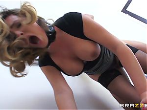 Danica Dillan teases her spouse into a female dominance ravaging