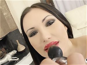HER restrict - Russian Sasha Rose gets bootie romped gonzo