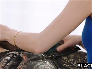 BLACKED bbc takes turn on Riley Reid pooper