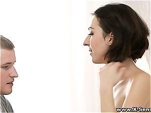Russian nubile loves an afternoon tryst with her boyfriend