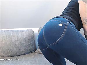 jeans Striptease NinaDevil