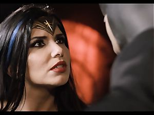 Justice League hardcore part five - Hero sex with Romi Rain
