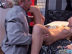 Jessa Rhodes saucy tight cunt is ravaged by a humungous man sausage
