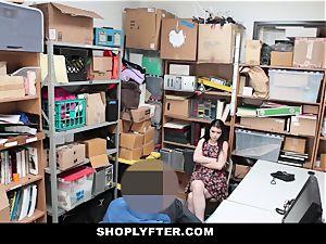 Shoplyfter - A firm pummel penalty For Rebelious nubile