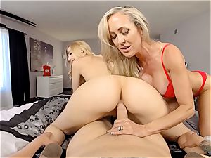 VR porn - lovemaking With Ur gf And Her Step-Mom