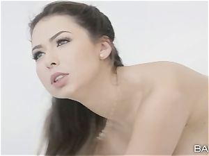 Melissa Moore blows that meaty bbc