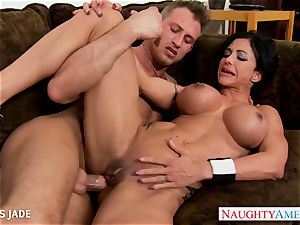 hard bodied pleasure buttons Jade boning