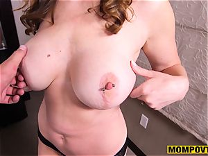 cute meaty tits fledgling wifey porked pov